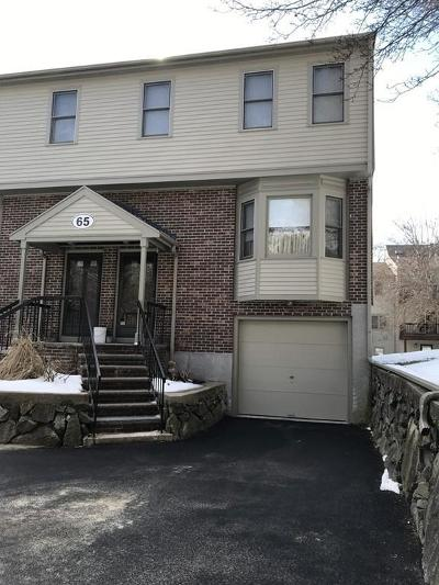 Canton Condo/Townhouse For Sale: 65 Maple St #B