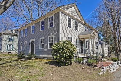 Holliston Single Family Home For Sale: 676 Washington Street