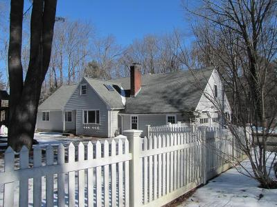 Sherborn Single Family Home Under Agreement: 7 Course Brook Rd