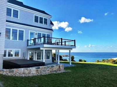 Cohasset MA Single Family Home For Sale: $3,200,000