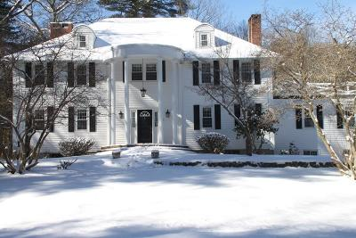 Sherborn Single Family Home For Sale: 35 Spywood Rd