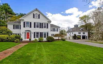 Duxbury Single Family Home For Sale: 265 Washington St