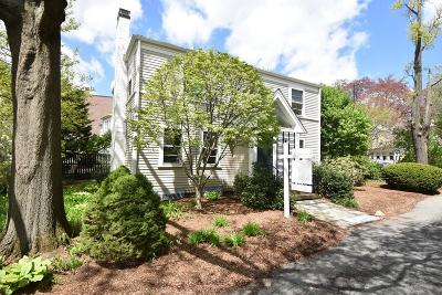 Cambridge Single Family Home For Sale: 16 Brattle Circle