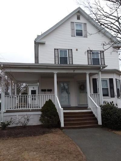 Danvers Condo/Townhouse Contingent: 7 Park St. #2