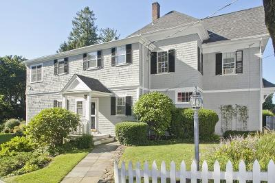 Duxbury Single Family Home For Sale: 590 Washington St