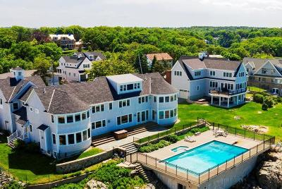 Cohasset MA Single Family Home For Sale: $6,300,000