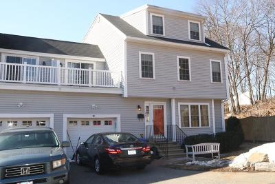 Wakefield Condo/Townhouse For Sale: 134 Nahant St #B