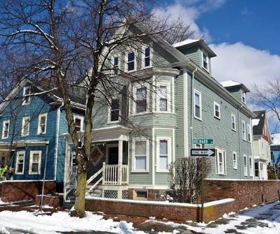Cambridge Multi Family Home Under Agreement: 1 Orchard St