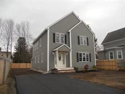 Easton Single Family Home For Sale: Lot 2 Depot St.