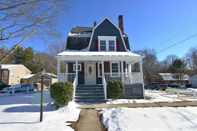 Stoughton Single Family Home For Sale: 405 Walnut Street