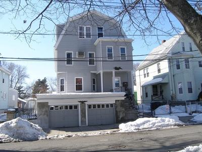 Malden Multi Family Home Under Agreement: 15-17 Sheafe St