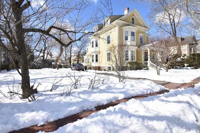Cambridge Single Family Home For Sale: 38 Lakeview Avenue