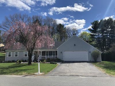 Framingham Single Family Home For Sale: 74 Overlook Drive West