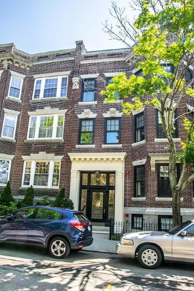 Brookline Condo/Townhouse For Sale: 11 Alton Place #3