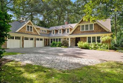 Wellesley MA Single Family Home For Sale: $3,695,000