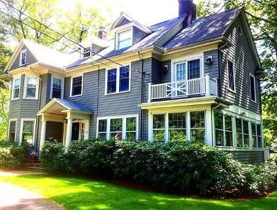 Newton Single Family Home For Sale: 247 Brookline St