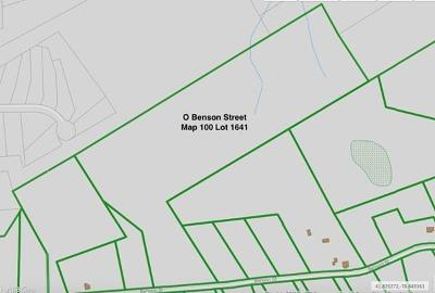 Middleboro Residential Lots & Land For Sale: Lot A Benson Street