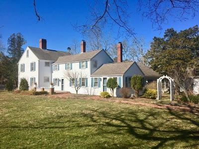 Falmouth Single Family Home For Sale: 224 Waquoit Hwy