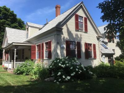 Norwell Single Family Home For Sale: 19 Central St.