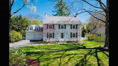 Newton Single Family Home For Sale: 816 Dedham St