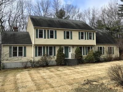 Hopkinton Single Family Home Contingent: 1 Appaloosa Cir