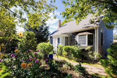 Provincetown Single Family Home Reactivated: 78 Bayberry Avenue