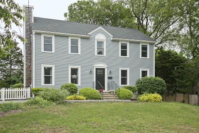 Hingham Single Family Home New: 141 Wompatuck Road