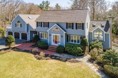 Cohasset, Weymouth, Braintree, Quincy, Milton, Holbrook, Randolph, Avon, Canton, Stoughton Single Family Home For Sale: 19 Heather Drive