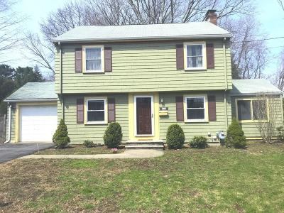 Natick Single Family Home For Sale: 53 Bacon Street