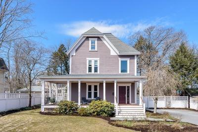 Newton Single Family Home For Sale: 37 Evergreen Ave