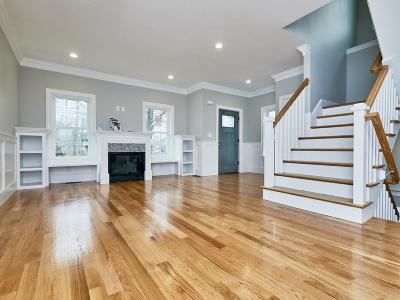 Newton Single Family Home For Sale: 127 Waban Street
