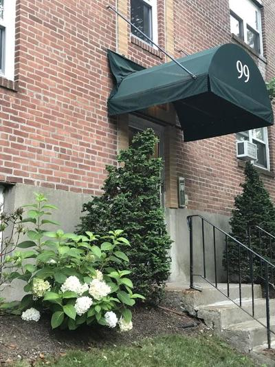 Brookline Condo/Townhouse For Sale: 99 Chestnut St #2