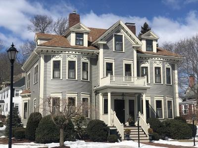 Wellesley Single Family Home New: 633 Washington St #633