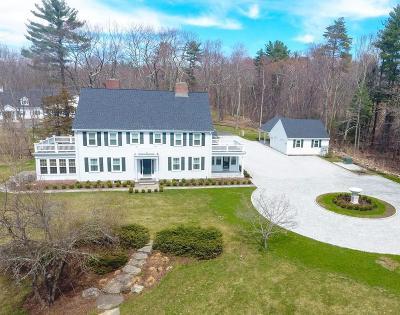 Dover MA Single Family Home New: $5,899,000