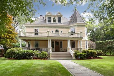 Newton Single Family Home For Sale: 102 Lenox St