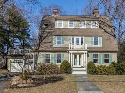Wellesley Single Family Home For Sale: 22 Cushing Rd