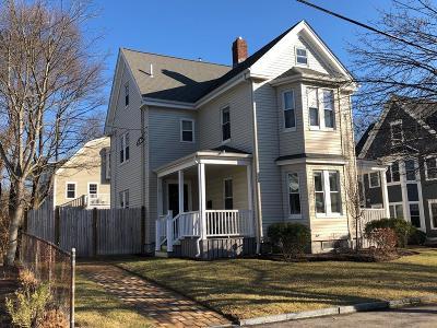 Needham Single Family Home Under Agreement: 26 Pleasant Street