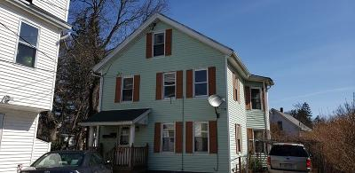 Webster Multi Family Home For Sale: 12-R Prospect St