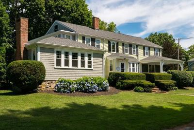Hanover Single Family Home For Sale: 40 Washington St