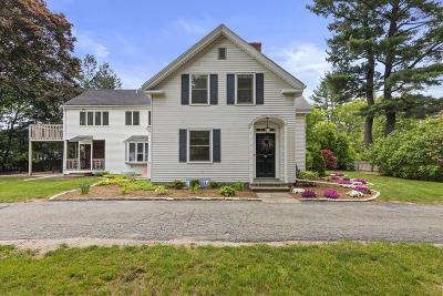 Sudbury Single Family Home For Sale: 303 Boston Post
