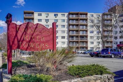 Watertown Condo/Townhouse Under Agreement: 131 Coolidge Ave. #623