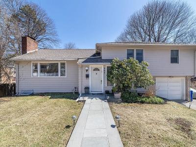 Newton Single Family Home For Sale: 207 Brookline #207
