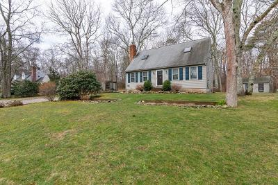Sandwich Single Family Home For Sale: 33 Falmouth Sandwich Rd