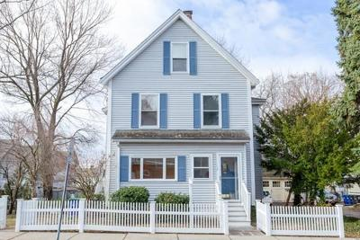 Somerville Single Family Home Under Agreement: 12 Conwell Ave