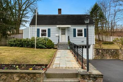 Natick MA Single Family Home Extended: $559,000