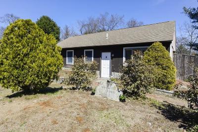 Randolph Single Family Home Under Agreement: 1 Hayward St, #1
