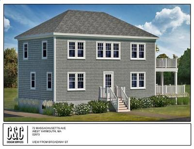 Yarmouth Single Family Home For Sale: 72 Massachusetts Ave