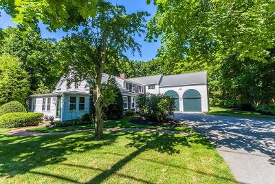 Duxbury Single Family Home For Sale: 1237 Tremont Street