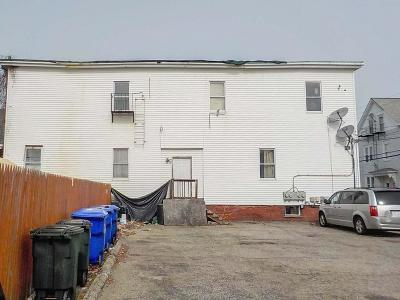 Pawtucket RI Multi Family Home For Sale: $220,000