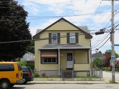 RI-Providence County Multi Family Home For Sale: 125 Daniel Ave